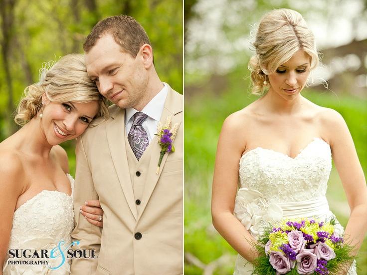 Rustic Khaki, purple and green wedding at Pine Ridge Hollow <3 Cecily & Greg {Married!} » Sugar & Soul Photography Blog