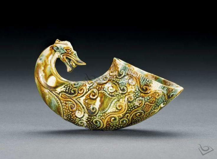 Tang dynasty rhyton