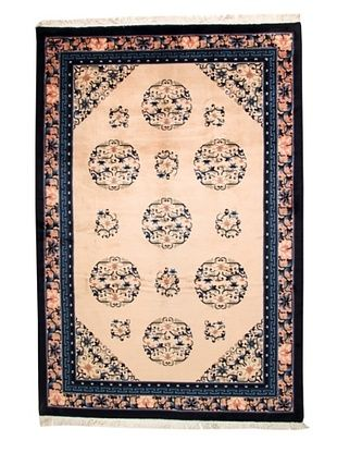 -26,300% OFF Roubini Chinese Antique Finish Rug, Peach/Navy, 6' 2