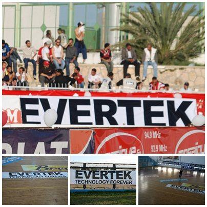 Evertek aime le sport ! Et si vous aussi, sachez que la Tunisie regorge de sportifs de hauts niveaux ! Que ce soit dans le football bien sur mais aussi dans le Hand Ball où l'équipe Nationale tutoie régulièrement les sommets. Également dans la boxe Féminine, vous pourrez vous en rendre compte lors des J.O de 2012. Evertek soutient ces talents, dans les stades ou de manière individuelle.