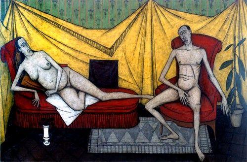 Bernard Buffet - The Couple, 1953