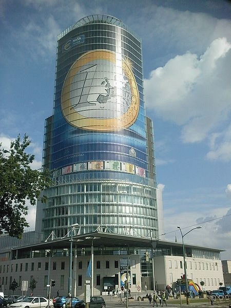 National bank of Slovakia expect euro currency