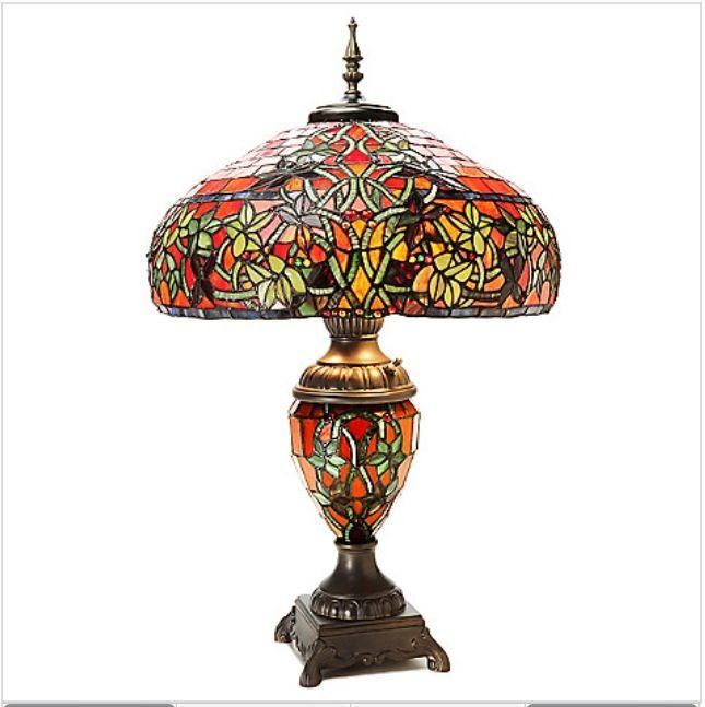 Hampstead Spice Tiffany Style Lamp