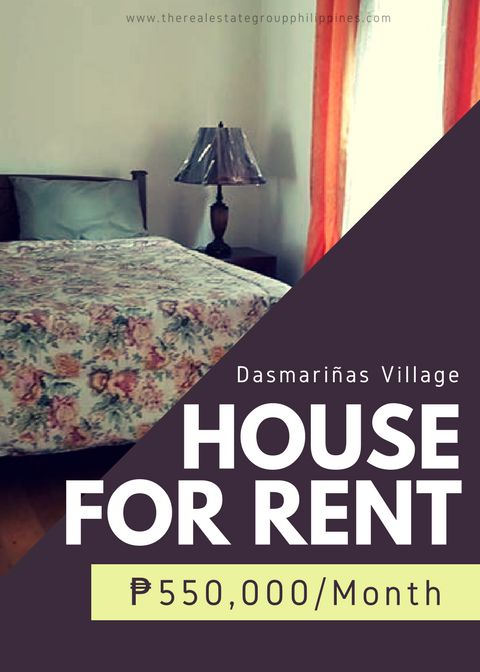 For Rent:  6BR House - Dasmariñas Village Makati City Land Area: 1300 Sqm Property Size: 2500 Sqm Fully Furnished Parking: 6 550000/Month  http://ift.tt/2uEWZJI