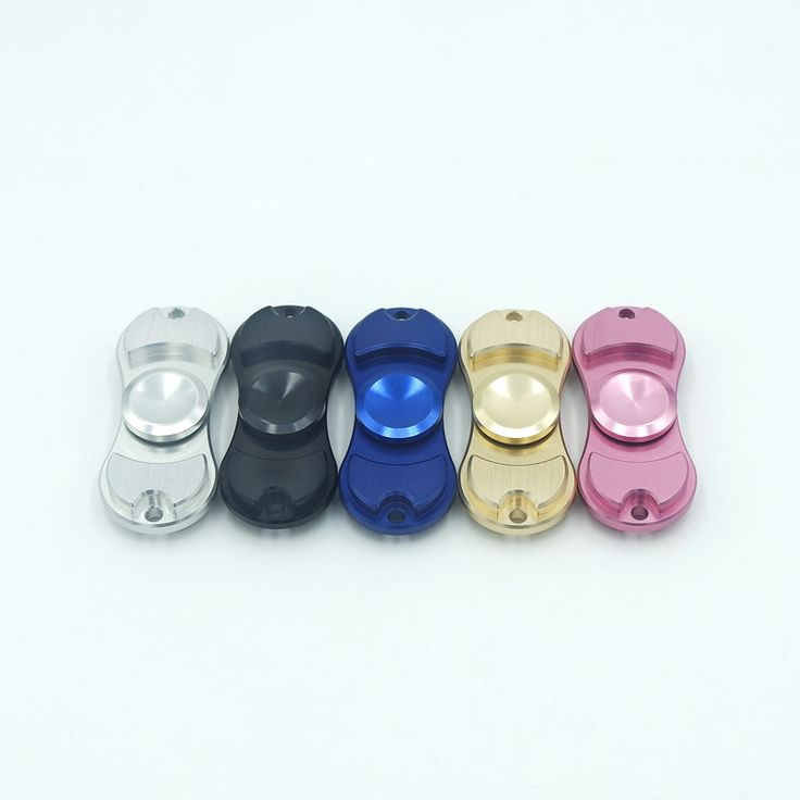 5 Renk Fidget Spinner Metal Iki Spinner Oyuncak Fidget El Spinner Otizm ve DEHB Için Çocuklar/Yetişkin Komik Anti Stres Oyuncaklar