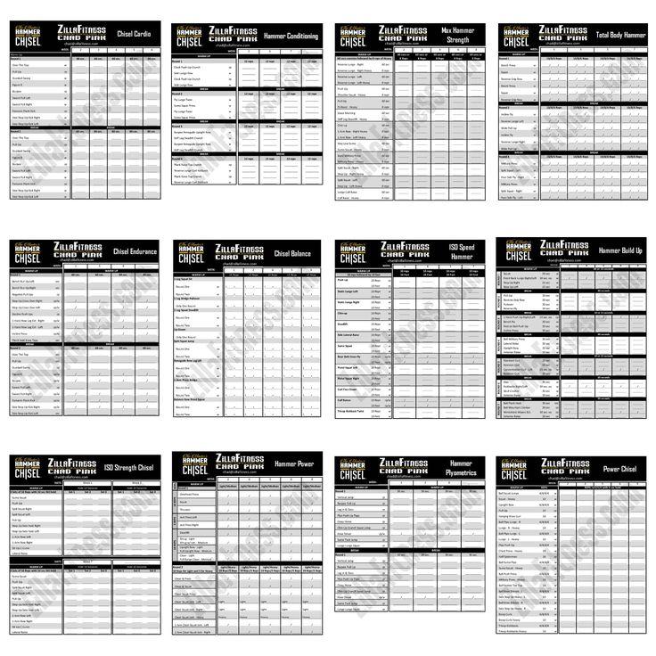 P90X3 Worksheets and Calendars - P413Life.com
