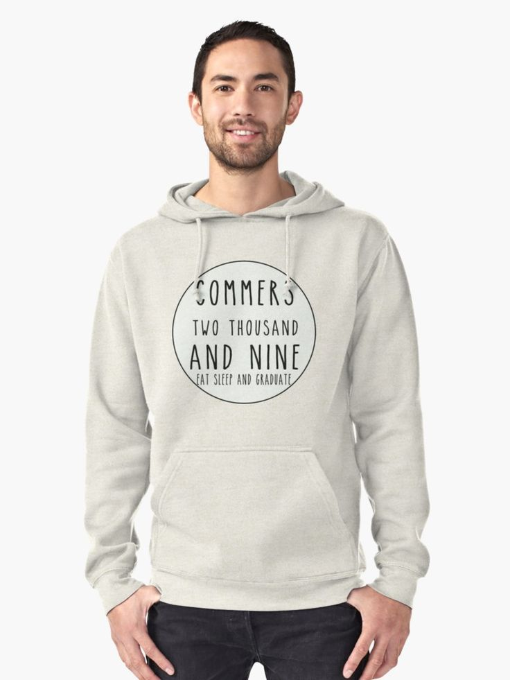 Class Of Quote Pullover Hoodie