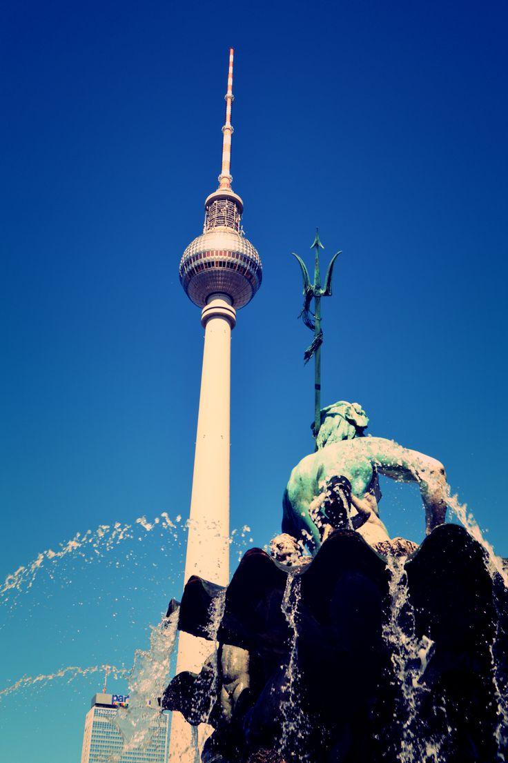 Berlin Fernsehen tower