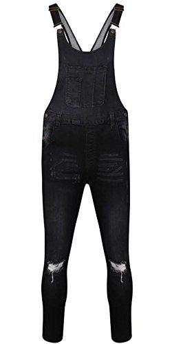 Vanilla Inc ® Denim Womens Dungaree Uk Overall Full Length Dungarees Ladies Jumpsuit Jeans Pinafore Playsuit Dress - http://www.darrenblogs.com/2017/03/vanilla-inc-denim-womens-dungaree-uk-overall-full-length-dungarees-ladies-jumpsuit-jeans-pinafore-playsuit-dress/