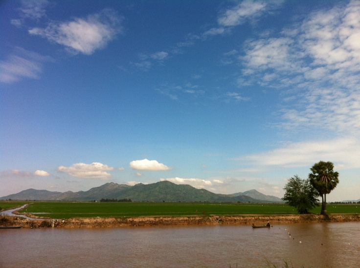Cambodian / Vietnam Border Mountain range