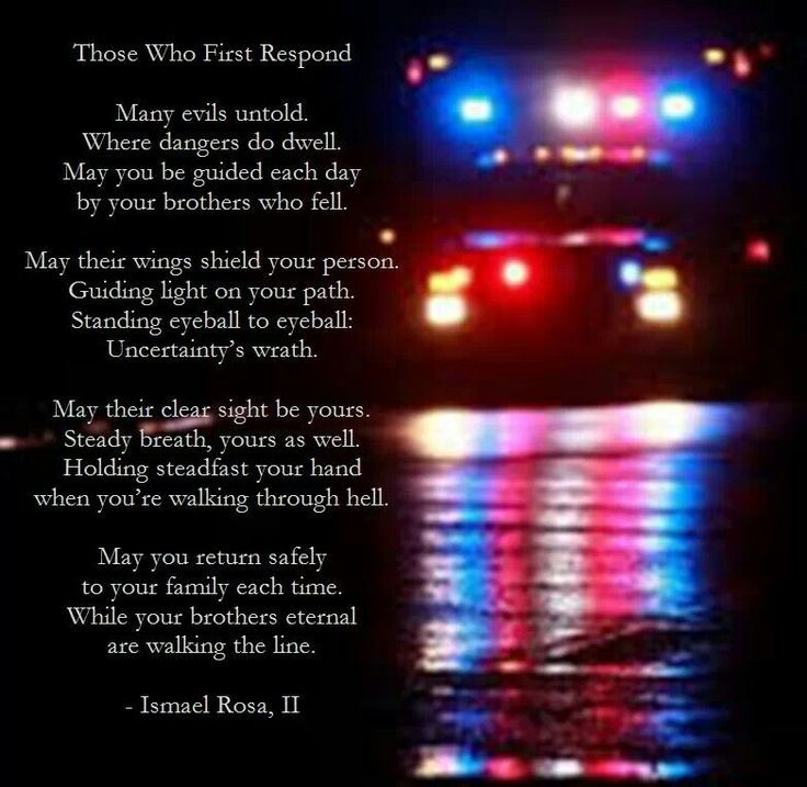 First Responder's Prayer. | This is who I am. | Pinterest