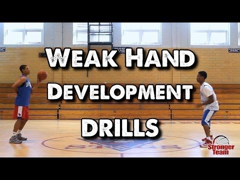 ▶ Weak Hand Development Drills for Basketball - YouTube