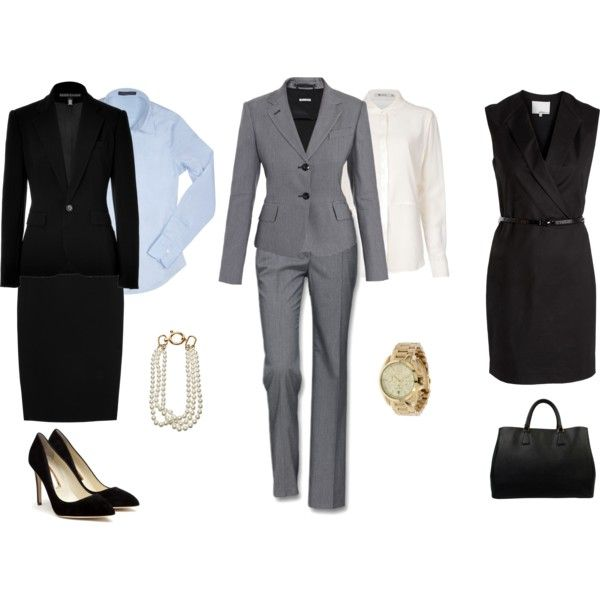 """""""formal business"""" by self-makeover on Polyvore"""
