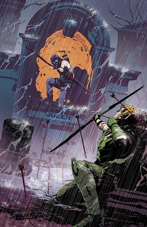 Andrea Sorrentino - Green Arrow #20