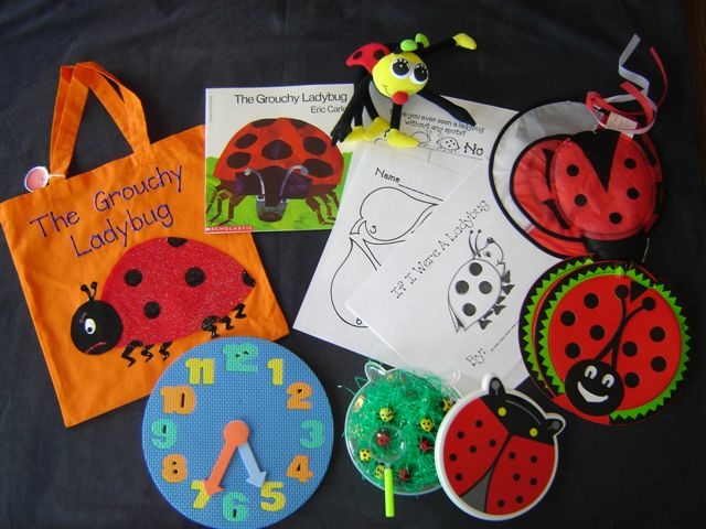 Grouchy Ladybug literacy bag                                                                                                                                                                                 More