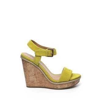 Invito - gele heelsandals #hogehakken #highheels