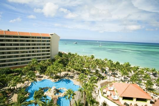 Occidental Grand Aruba- this all-inclusive resort is a great choice for honeymoons!