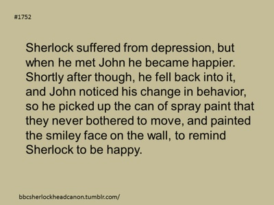 That would make so much sense actually. Remember that scene when John went to go stay with his girlfriend and sherlock just smiled at the smilie face (right before the explosion)? This would make that scene have so much more meaning.