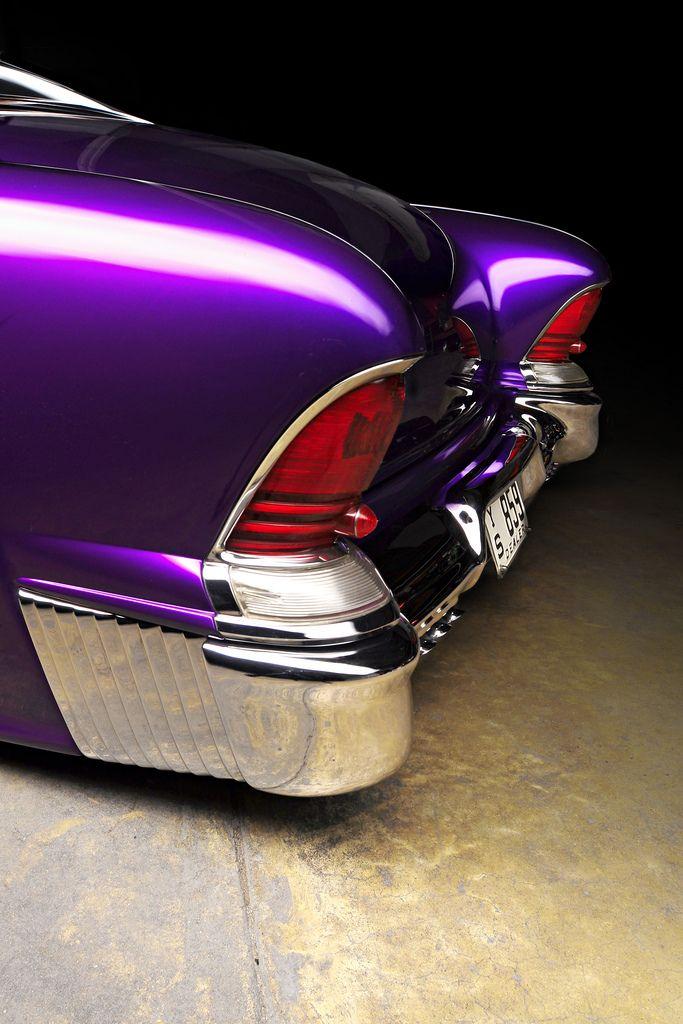 Tail lights | #classic #car #retro #vintage #chrome #wheel #custom #design #purple