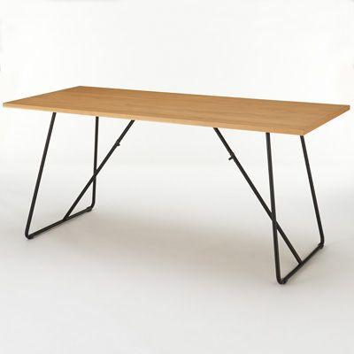 折りたたみテーブル・幅160cm・オーク材 幅160×奥行70×高さ72cm   無印良品ネットストア