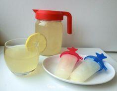 sciroppo al limone limonata ghiaccioli
