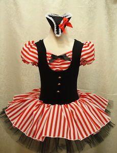 Girl Fancy Dress Pirate Costume 5-6Y Toddler Ballet Tutu Dance Leotard Cosplay | eBay