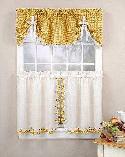 Sewing Kitchen Curtains: 129 Best Cortinas Images On Pinterest