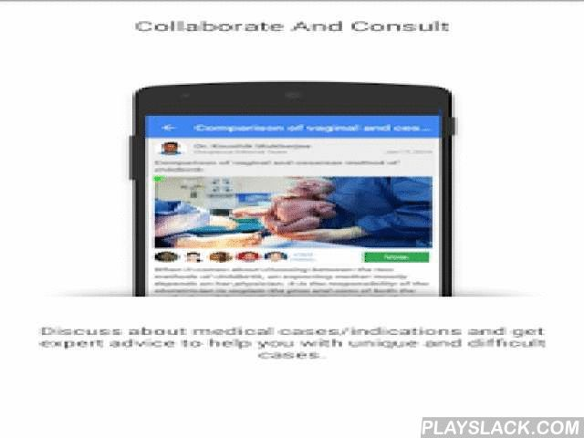 Docplexus Doctor's Network  Android App - playslack.com ,  Docplexus is a platform exclusively for doctors to securely communicate with peers and other health providers. Content published on Docplexus is accessed by 1,25,000+ Doctors throughout India.At Docplexus, Doctors get to:• Discuss patient cases to get expert advice and second opinions. • Read and share Medical Articles and stay updated with the latest Healthcare News.• Know your peers better by visiting their profiles and get…
