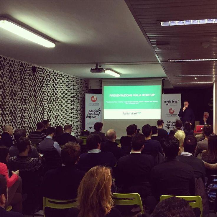 Trasformare l'idea in #startup! #ISeducation #italiastartup #business #tagevent #tagevents #beginning #startupper @talentgarden @startup_italia by marcopetrazzi