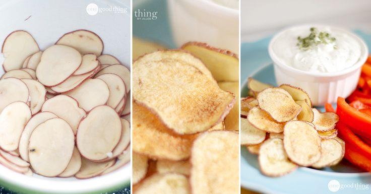 Zdravé chipsy z mikrovlnky