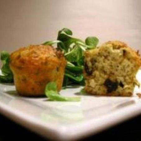 Muffin con pomodori secchi e timo