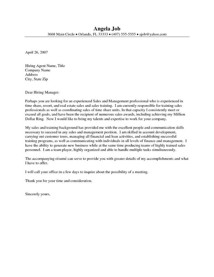 Real Estate Offer Letter Template Samples Letter Cover