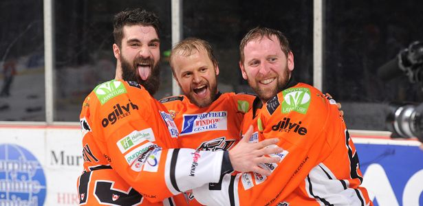 Champions - The Celebrations   Sheffield Steelers