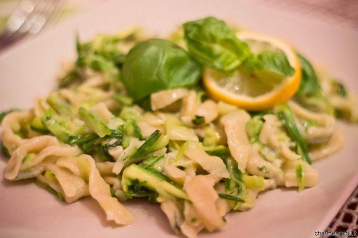 Besciamella al limone e zucchine, freschezza e delicatezza
