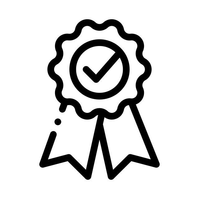 ترتيب الميدالية مع أيقونة علامة الشريط المعتمدة صور المتجهات مع المواد Png Icon Symbols Vector Icons