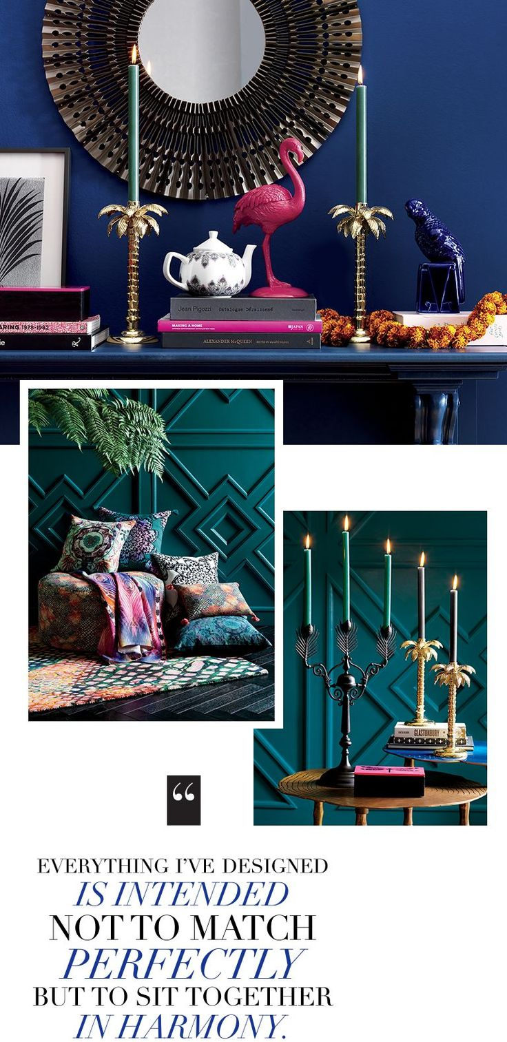 We've partnered with iconic British designer Matthew Williamson for a collection of stylish, fashion-forward furniture and home decor. Shop online.