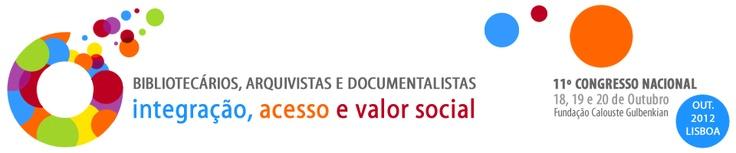 11º Congresso Nacional de Bibliotecários, Arquivistas e Documentalistas