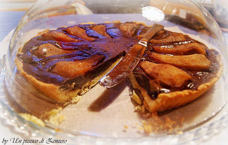 Pears and chocolate cake - Torta pere e cioccolato