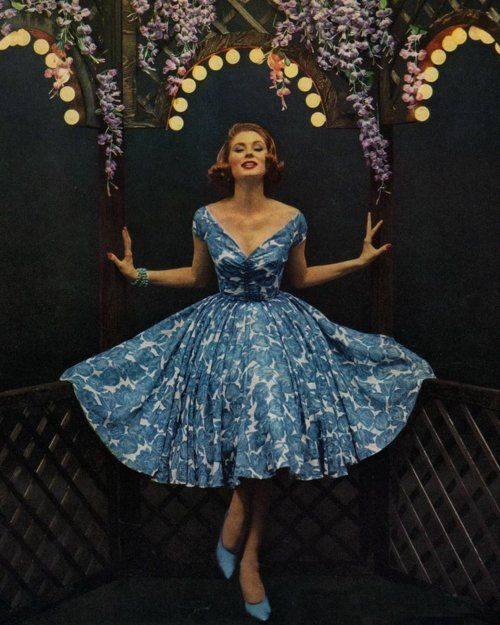 Love that dress.