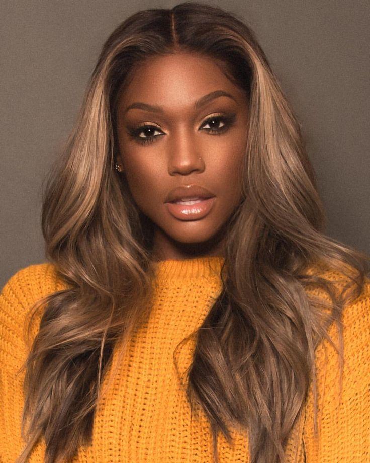 Pin do(a) Dee Dee 💋 em Hair and beauty de 2019 | Pinterest | Cabelo, Pele negra e Maquiagem