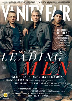 The Proust Smackdown: Clooneyvs. Craig vs, Damon!: Daniel Craig, George Clooney, Vanities Fair, Fashion Icons, Hot Matte Damon, Boys, Leaded Men, Celebs Lovers, Magazines Photo