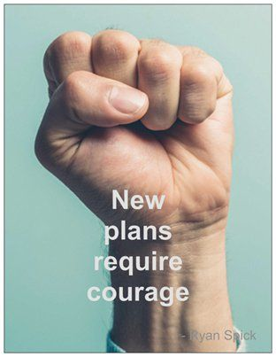 New plans take #courage