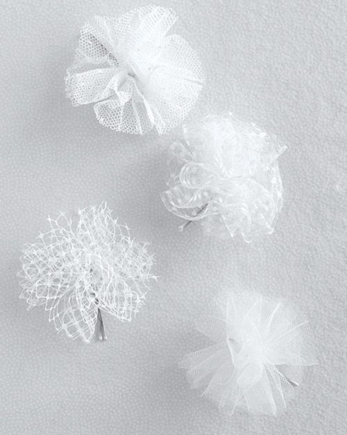 Tulle Pom Poms How to