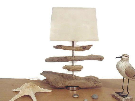Les 25 meilleures id es concernant cr ations artisanales for Lampe en bois artisanale