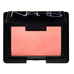 NARS Orgasm.  Its a peachy pink with golden shimmer.  Love.