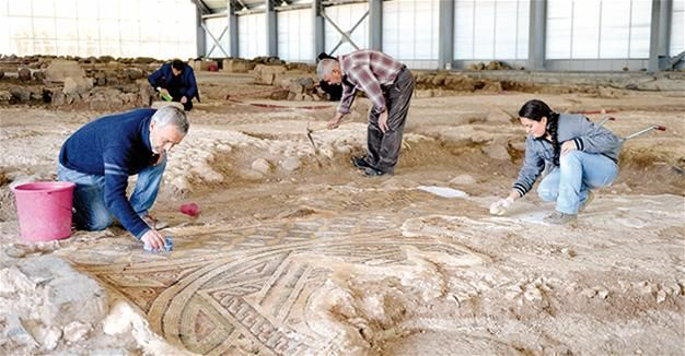1,600-year-old Byzantine mosaics in southern Turkey set to open to tourism