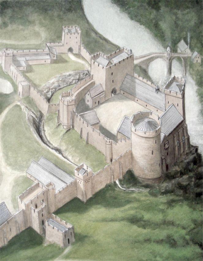 Barnard Castle by Geoffrey Wheeler