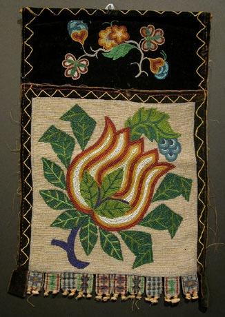 native american bandolier bag