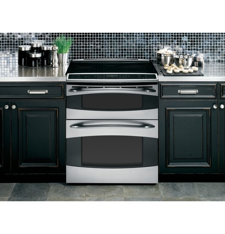 PS978STSS | GE Profile™ Slide In Double Oven Electric Range | GE Appliances