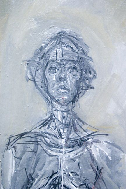 Alberto Giacometti Painting Ideas